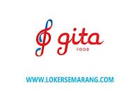 Lowongan Kerja PT GITA Food Nasional Sales Manager