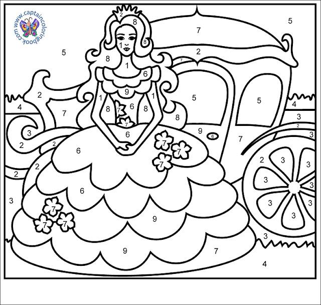 Princesse - Number Page