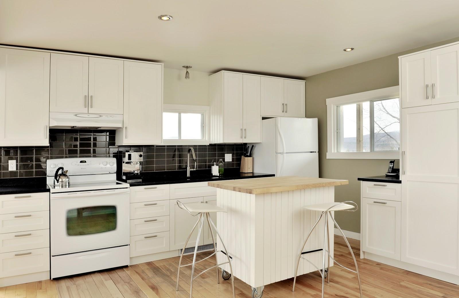 chaletconcierge cuisine contemporaine contemporary kitchen. Black Bedroom Furniture Sets. Home Design Ideas