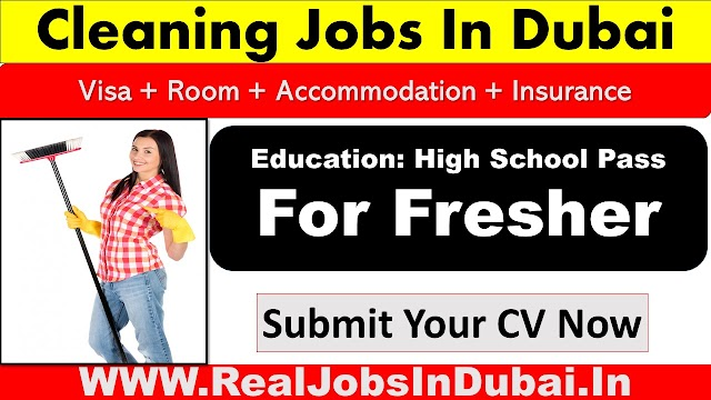 Cleaning Jobs In Dubai  UAE 2021