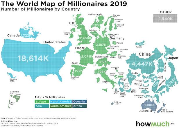 Dysproporcje wśród najbogatszych