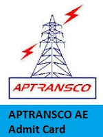 APTRANSCO AE Admit Card