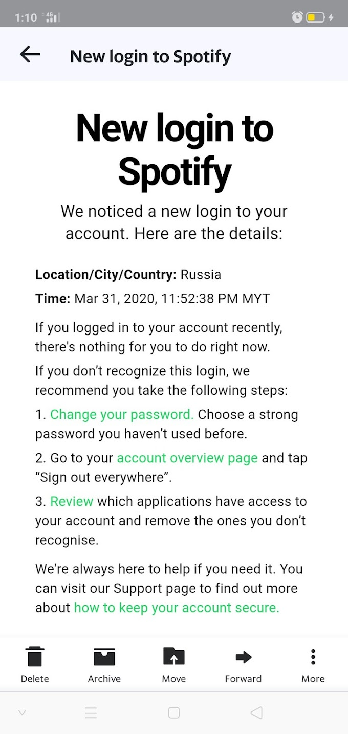 My Spotify Account Was Hacked!