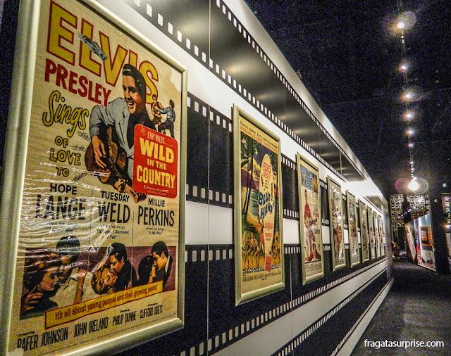 Exposição em Graceland lembra a carreira cinematográfica de Elvis