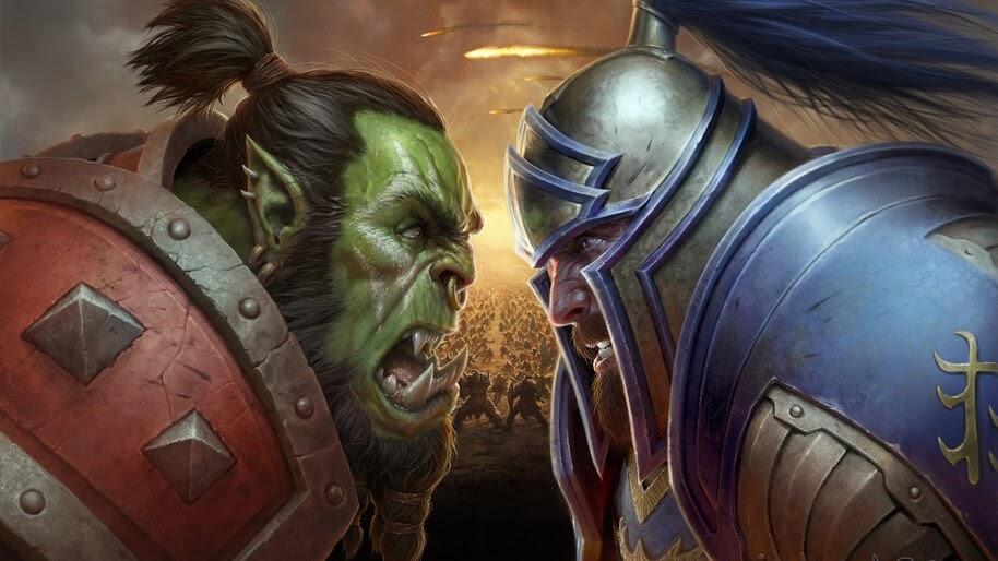 The Horde Vs The Alliance Wow 4k Wallpaper 4 366