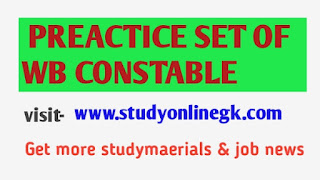 PRACTICE SET OF WB CONSTABLE FREE PDF