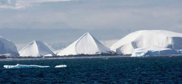 Le misteriose Piramidi del Polo Sud: enigma risolto?