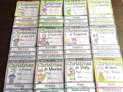 Christmas Around the World Flipbooks