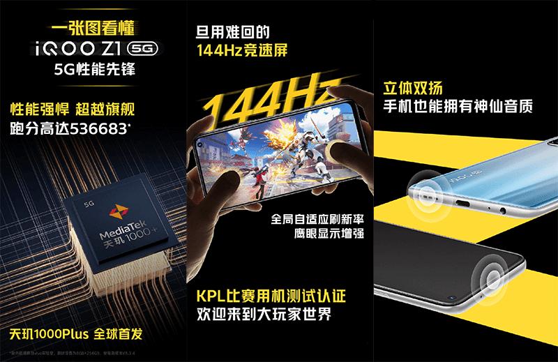 Equipped with MediaTek 1000+ 5G SoC