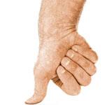thumb in spanish