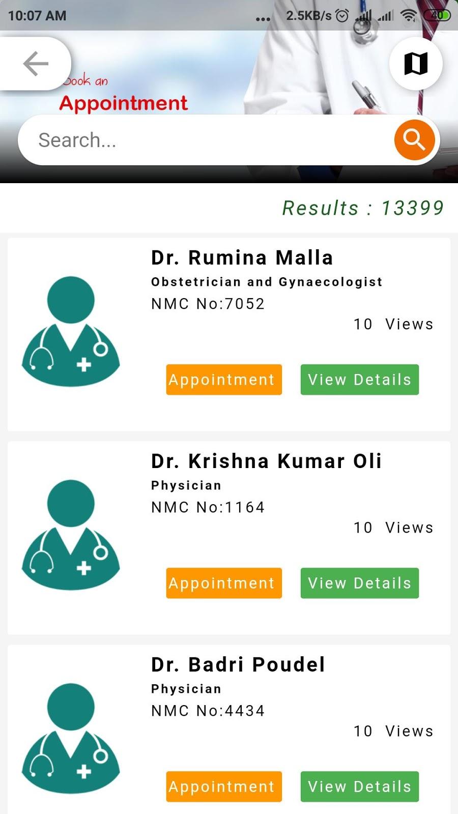 Health Concern Nepal Online Apps