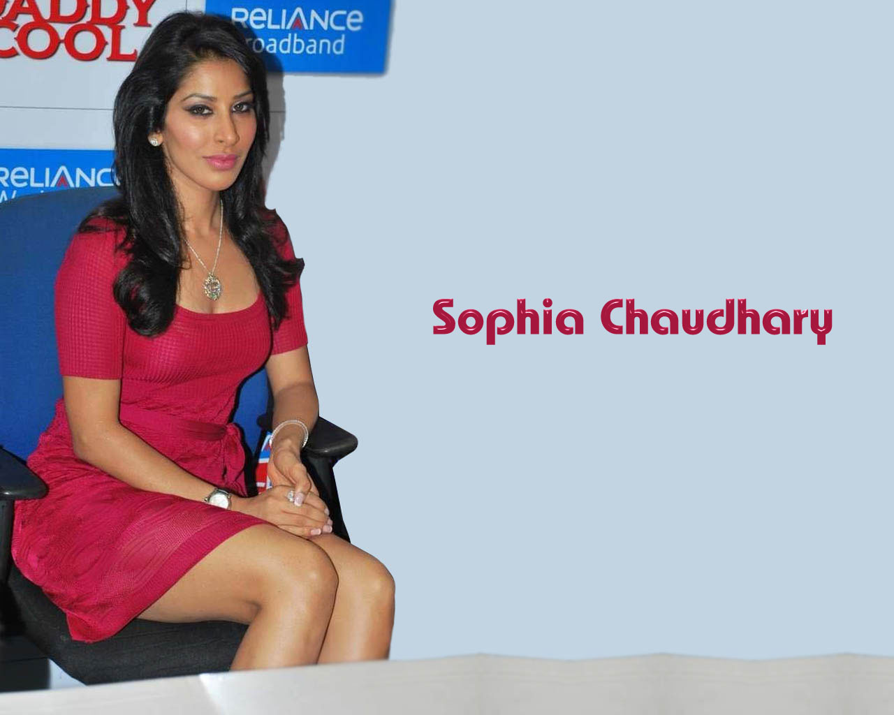Indian Film Actress, Singer Sophia Chaudhary - The -6703