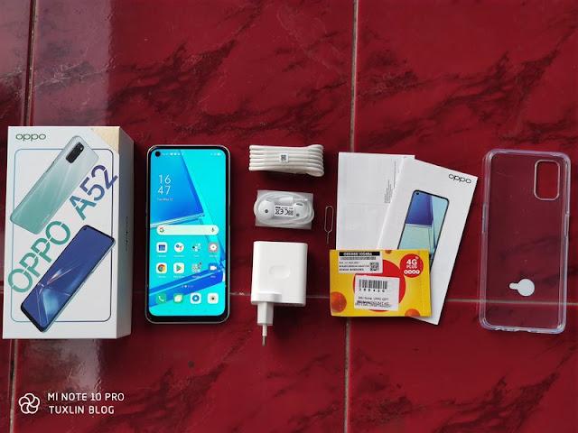 Paket Pembelian Oppo A52