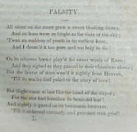 """""""Falsity"""" poem from the Dartmouth student newspaper"""