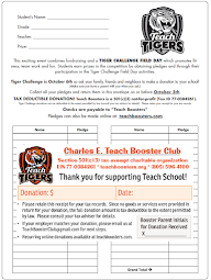 Tiger Challenge Donations