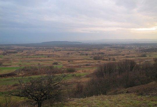 Widok na wzgórze Chełm (278 m n.p.m.).