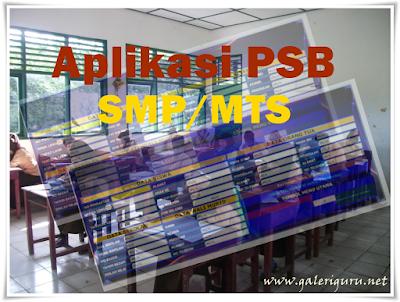 Aplikasi PSB SMP/MTS Mudah dan Cepat dari Excel