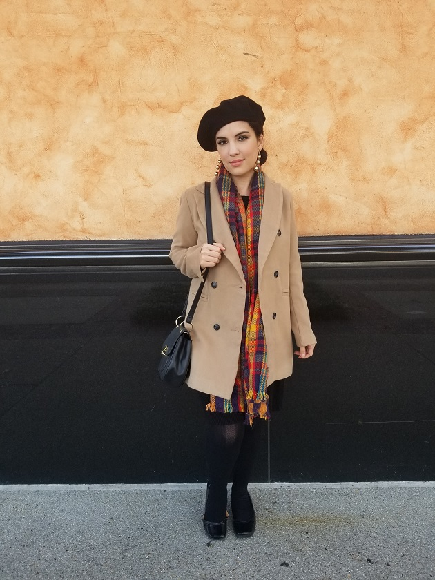 SHEIN Camel Jacket