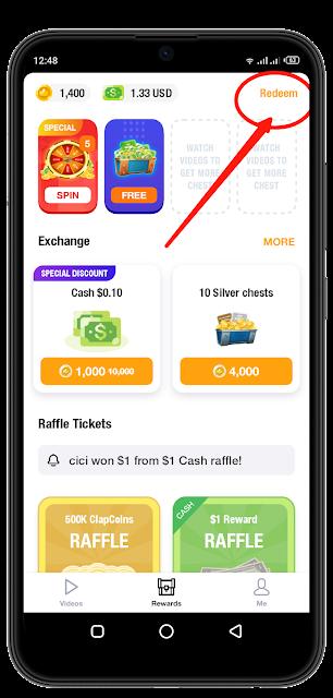 شرح تطبيق ClipClaps لربح المال من الهاتف