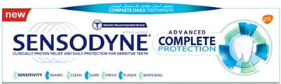 معجون الأسنان سنسوداين المطور حماية متكاملة