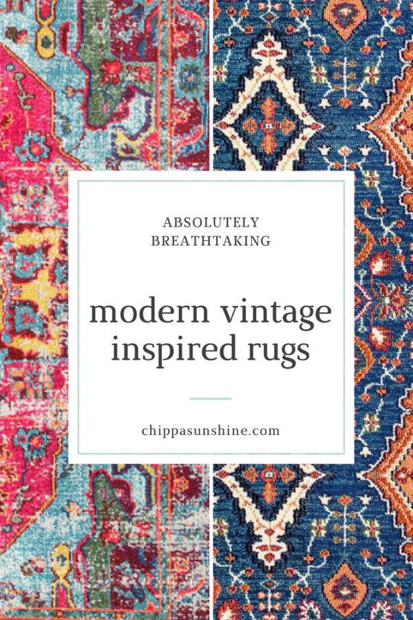 Modern Vintage Inspired Rugs Chippasunshine