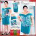 HNB259 Model Etsuko Ruffle Layer Dress Big Size BMG Shop