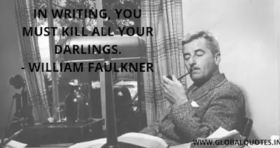 williams faulkner quotes on time