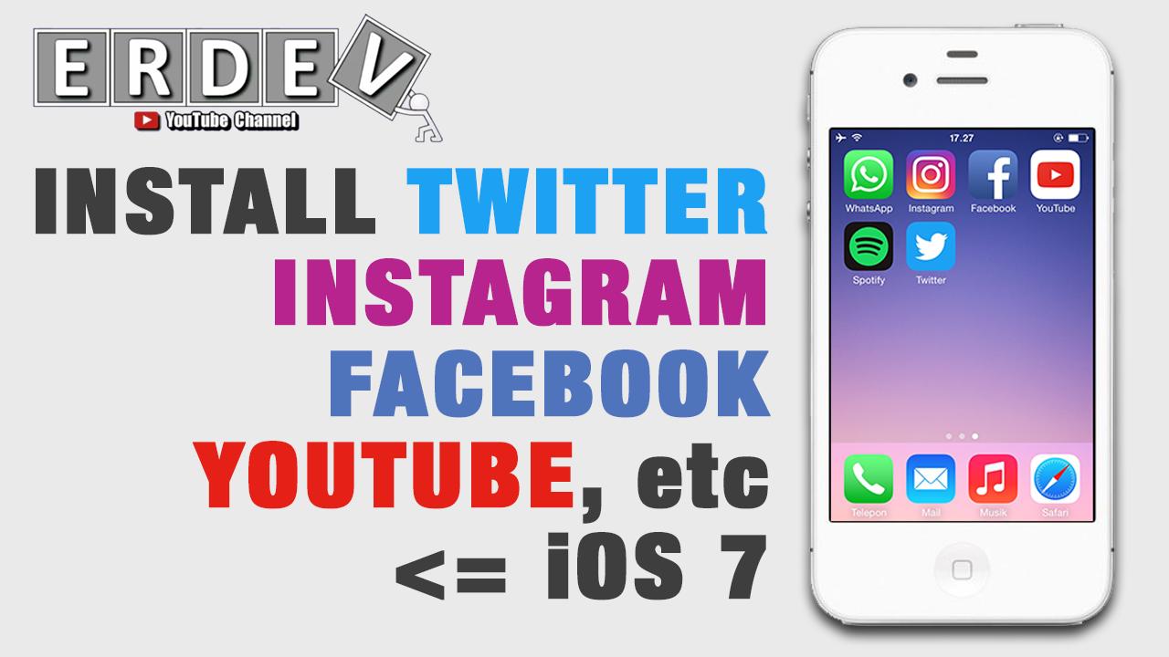 Cara Install Aplikasi Yang Sudah Tidak Support Di Iphone 4 Ios 7 Tanpa Jailbreak Erdev Blog