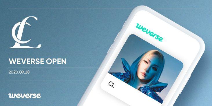 CL Officially Joins Weverse Fan Community App