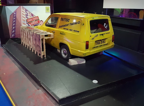 Reliant Regal Supervan at Teezers in Coventry