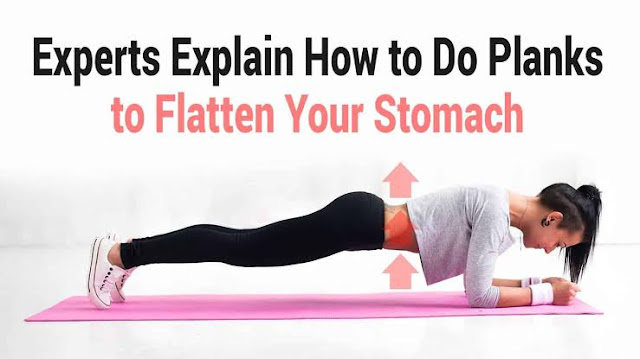 Exercises to flatten your stomach