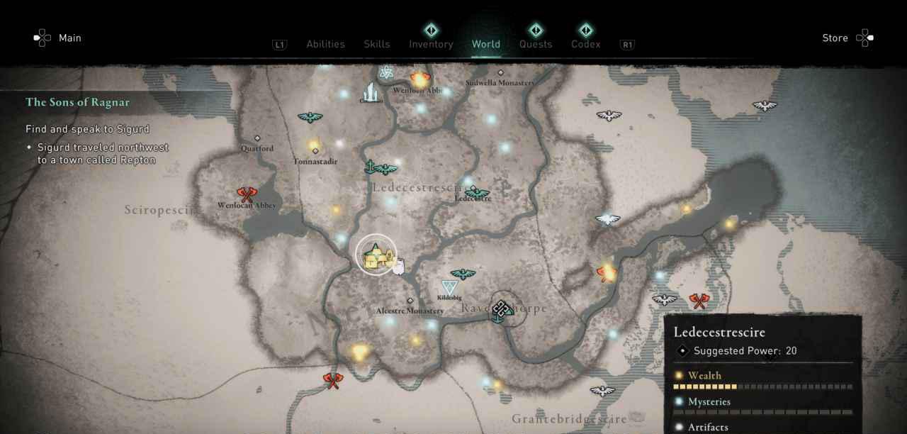 Ingot 18 Map 1