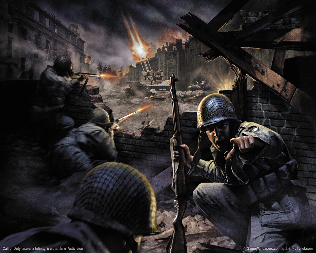 Kayla Delgado Call Of Duty World At War Game Wallpaper