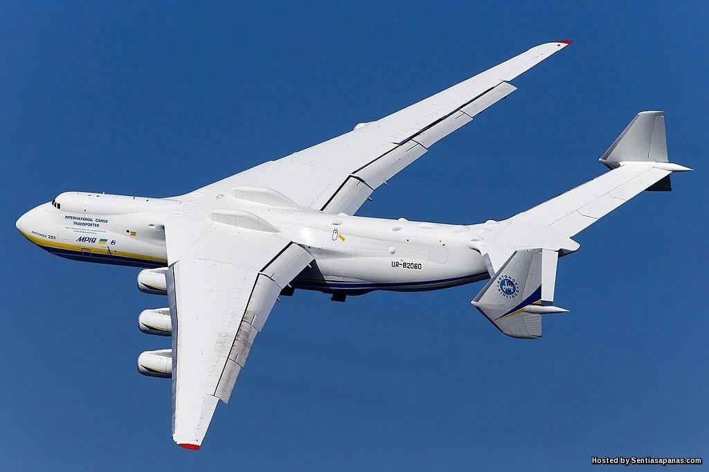 Antonov An-225 Mriya Pesawat Terbesar, Terberat Dan Terpanjang Di Dunia