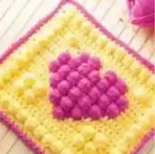 Punto Bobble a Crochet
