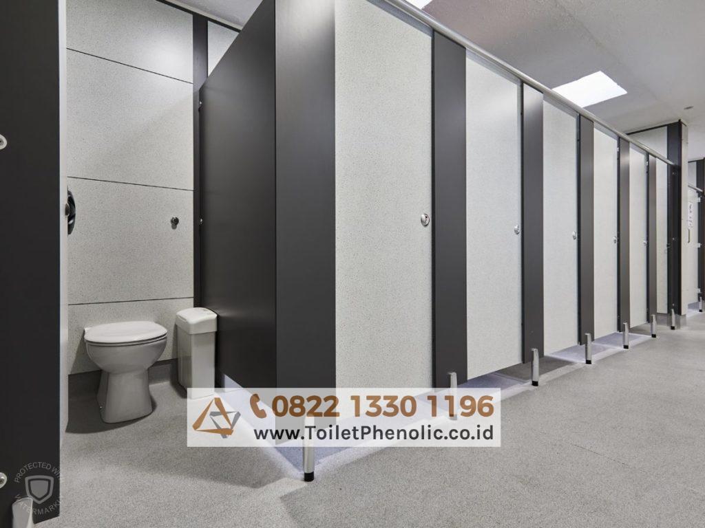 Toilet Cubicle Pekanbaru (Partisi Kamar Mandi Phenolic) Murah