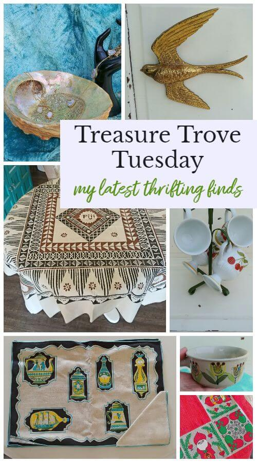Treasure Trove Tuesday - Latest Thrifting Finds
