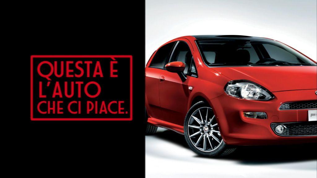 Fiat a noi piace punto il nuovo spot sfida mini vw for Idea casa sarno