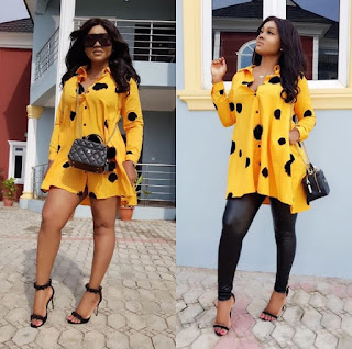 'You are just an Olodo': Mercy Aigbe slams fan who tried to correct her spelling