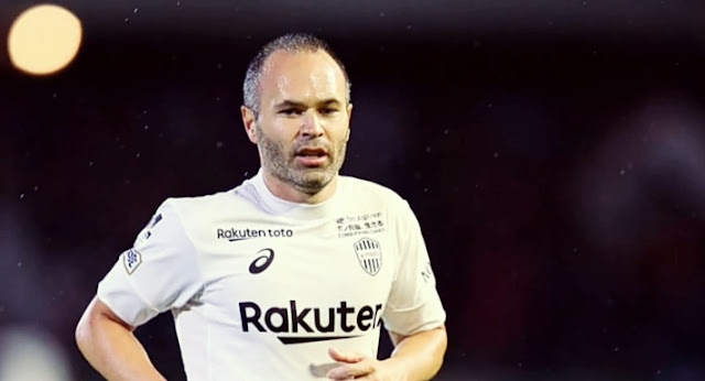 Andres Iniesta prepared for face-off against ex-team Barcelona.