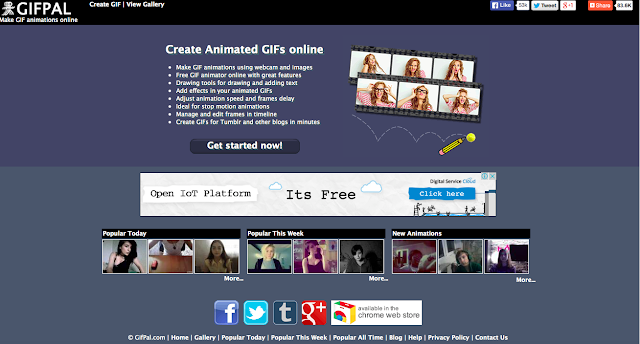 5 best websites to create free animated GIF images