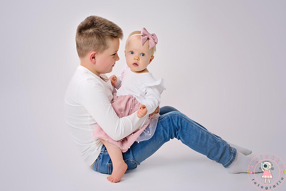 Zdjęcie rodzeństwa
