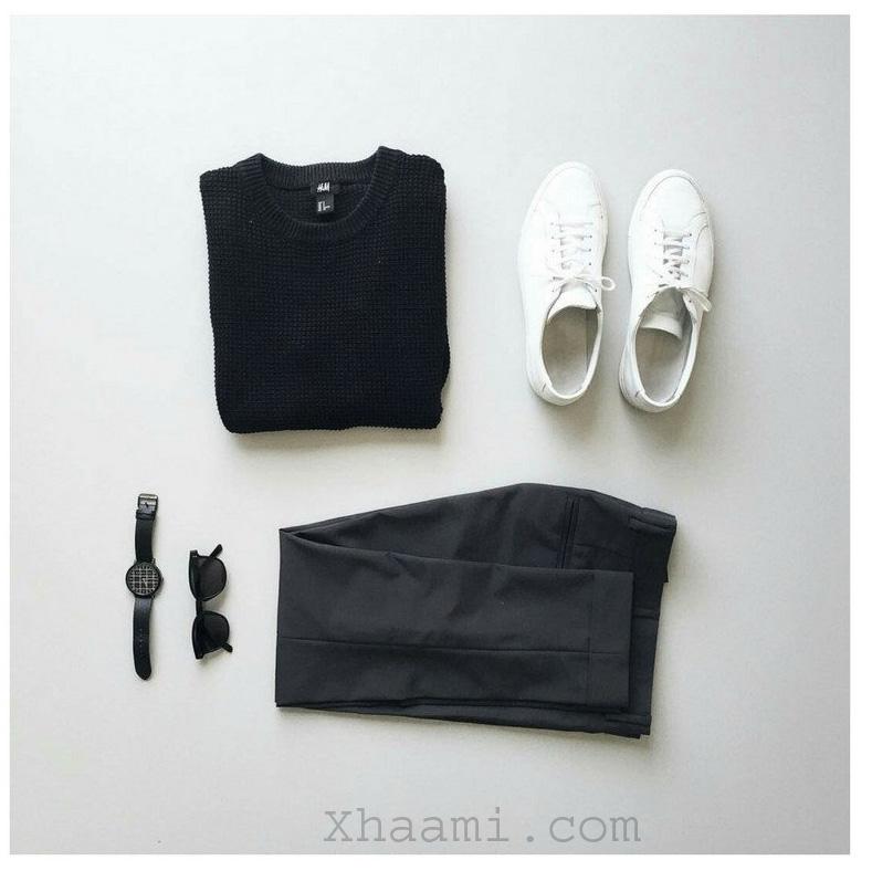 Teenager black dressing Grid Ideas for boys