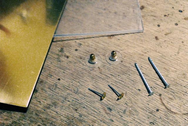 believe in kairos diy plexiglass and brass earrings. Black Bedroom Furniture Sets. Home Design Ideas