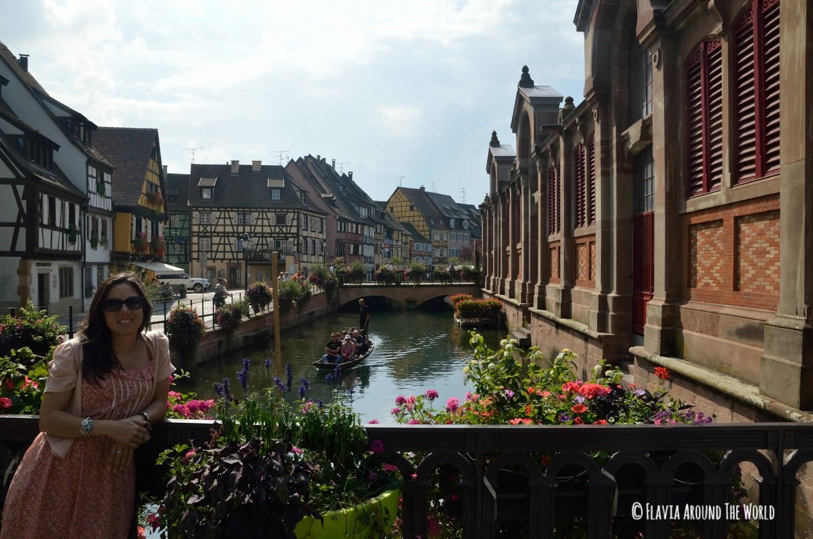 Pequeña Venecia en Colmar, Francia