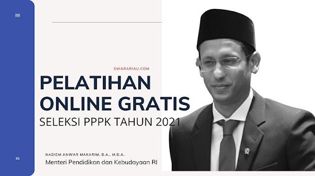 Kemendikbud Berikan Pelatihan Gratis Online Untuk Seleksi PPPK Tahun 2021