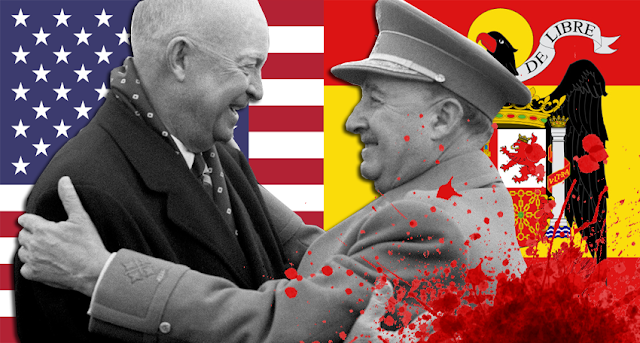 Eisenhower y el dictador Franco