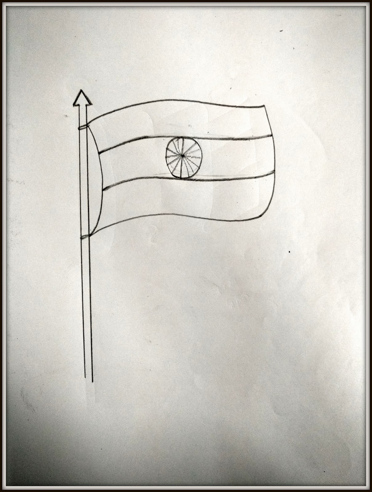 republic day 2017 how to draw a flag proart by satyam