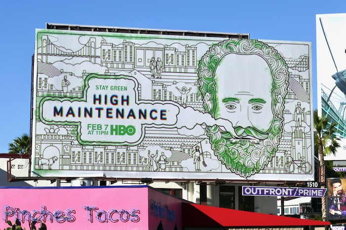 High Maintenance season 4 HBO billboard