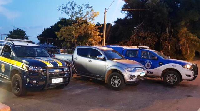 Veículos são recuperados pela PRF e Polícia Civil em Vitória da Conquista